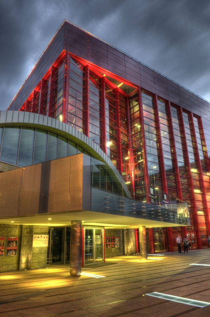 Opera house in Krakow, Poland