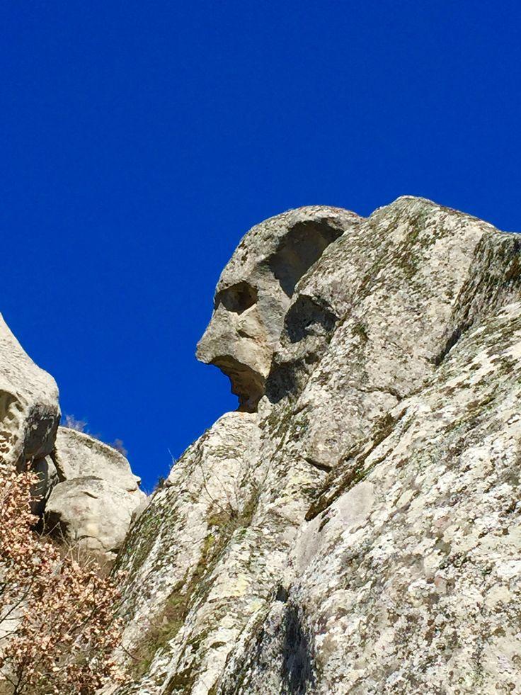 Pietrapertosa (PZ) ... Volti nelle rocce