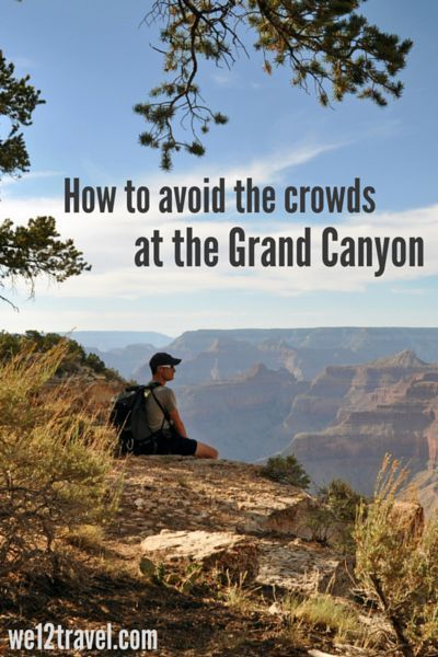 How to avoid the crowds at  Grand Canyon National Park - our tips and tricks to enjoy the hiking trails in silence while taking the most stunning pics! This is must-do Arizona travel adventure.