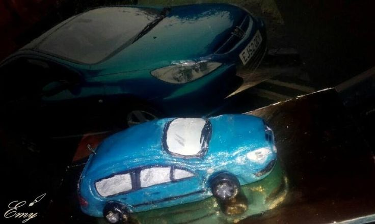Peugeot 307 car :) - Cake by EmyCakeDesign