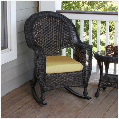 Chicago Wicker/NCI Georgetown High Back Rocker By Inside Out Furniture  Warehouse. $399.00.