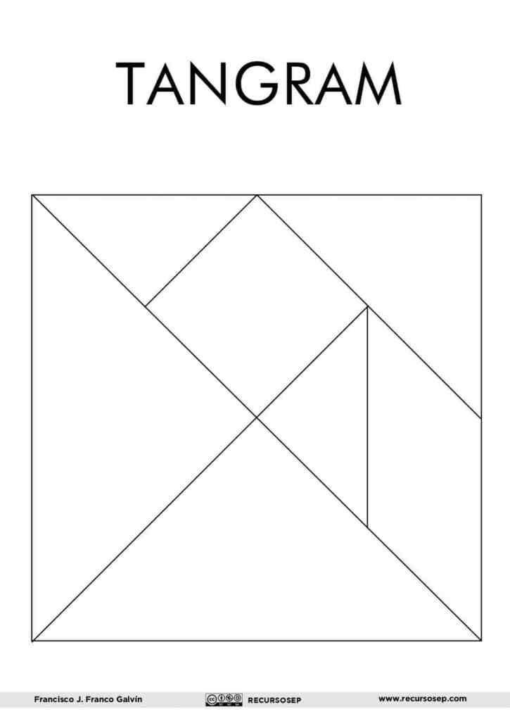 Tangram Para Imprimir Y 60 Figuras Para Construir Figuras E
