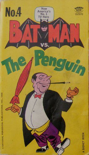BATMAN VS. THE PENGUIN by Bob Kane http://www.amazon.ca/dp/0451029704/ref=cm_sw_r_pi_dp_Bip6ub1VBFTSC