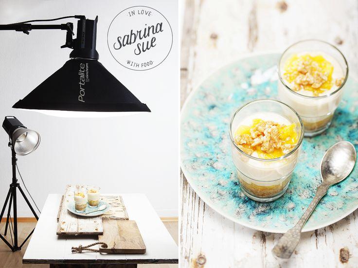 Food Workshop:Natürliches Licht mit Studioblitzlampen zeigt den Aufbau von professionellen Foodfotos mit Studioblitzen und gibt Tips und für ihren Gebrauch.