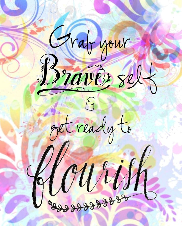 MOPs 2014/12015 Be You Bravely and 2015/2016 A Fierce Flourishing logos combined.