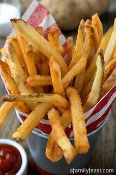 Patate fritte fatte in casa...ci siamo quasi!