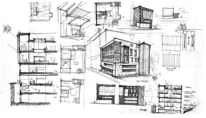 MedaTeca Sketches.