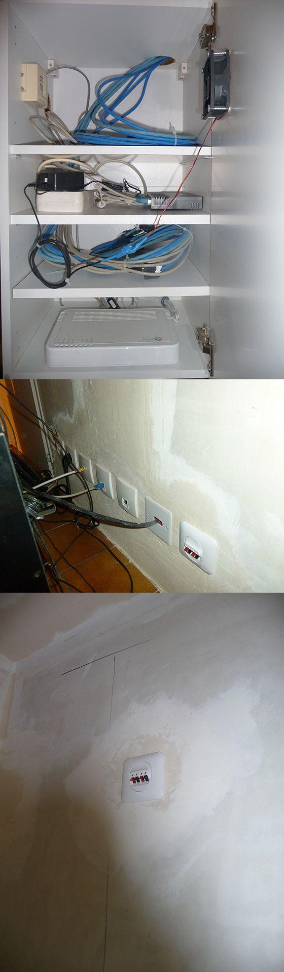 Rénovation totale de la maison avec VDI Home Made, 12 prises Ethernet Cat 6a, 2 prises HDMI 2.0, + de 40 prises de courant, 5 prises TV câblés en 17VATC, 2 prises audio murale surround dans le salon pour le Home Cinema.
