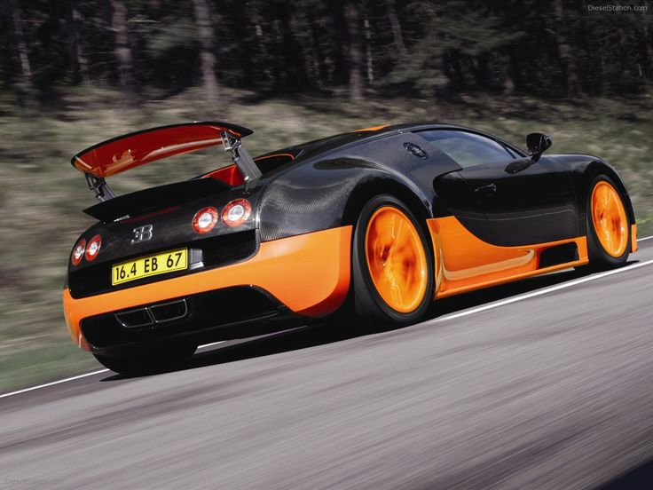 Bugatti Veyron 16.4 Super Sports Car 2011 Exotic Car Pictures #12 of 39 : Diesel Station