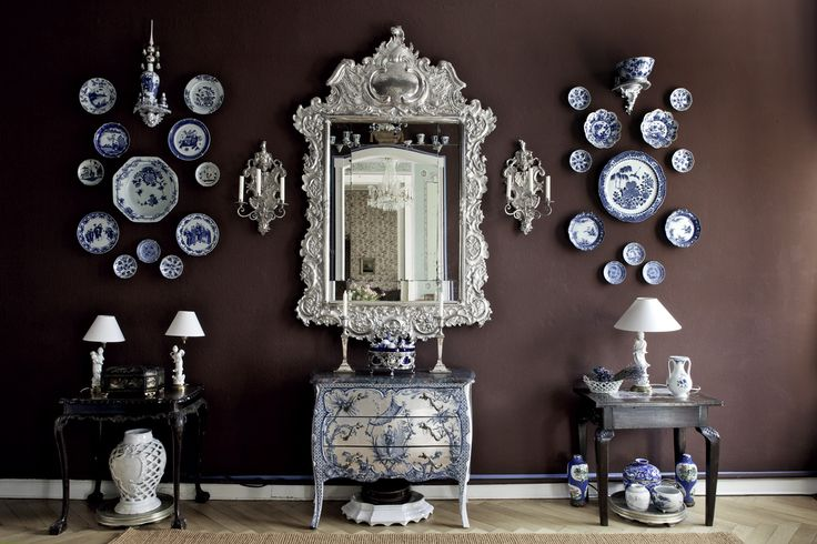 Mirror Sconces Wall Decor: 344 Best Images About Decorating With Plate Groupings