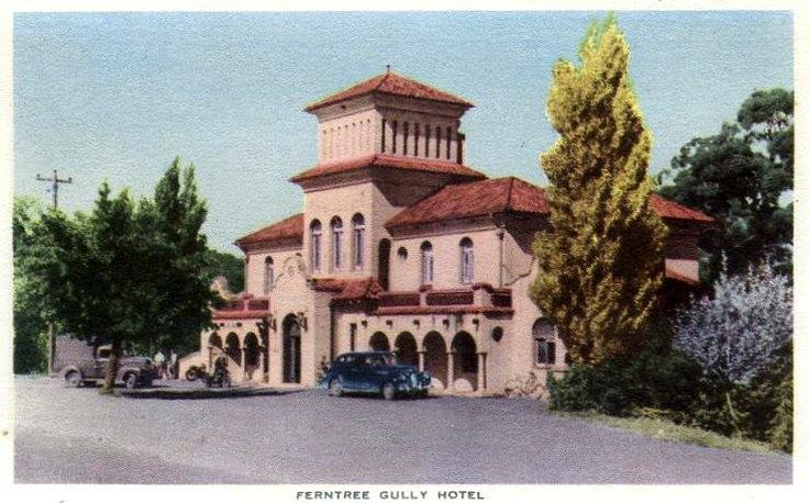 Ferntree Gully Hotel, postcard