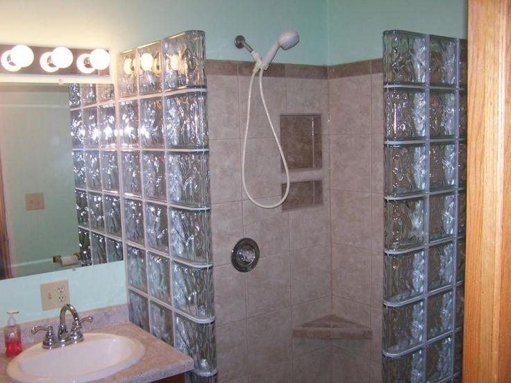 Glass Block Bathroom Ideas 30 best master bath imagined images on pinterest | bathroom ideas