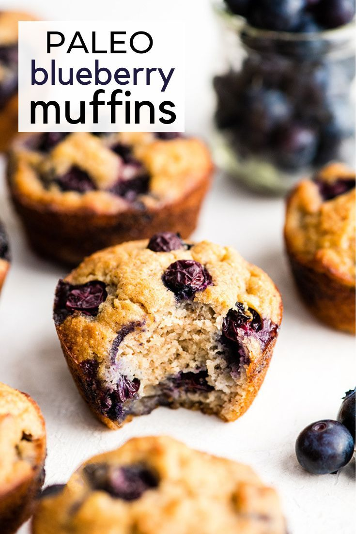 This Easy Paleo Blueberry Muffins Recipe Tastes Just Like Bakery