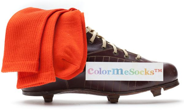 Halloween Orange by ColorMeSocks™