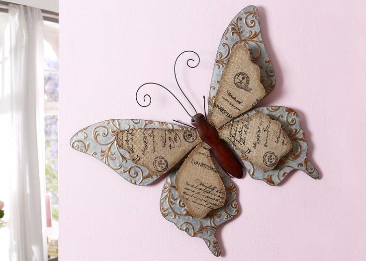Marvelous Home affaire Wanddeko Schmetterling braun Gro Jetzt bestellen unter https