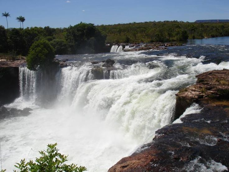 Cachoeira Velha no Rio Novo