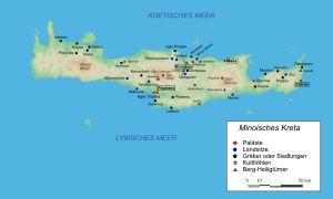 Minoische Kultur auf Kreta