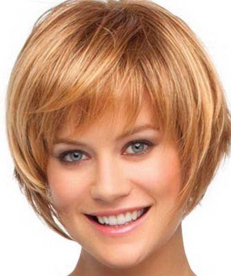 Прическа на короткие волосы женская