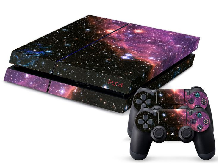 custom ps4 | ... PS4-Decals-Console-and-2-Matching-Controller-Skins-Custom-Sticker