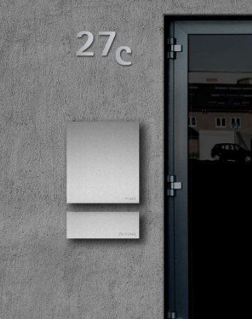 LED Wandleuchte mit Bewegungsmelder und Dämmerungssensor Außenleuchte, 1 Flammig, Schwarz, Down, GU10 230V, (Form:F2)