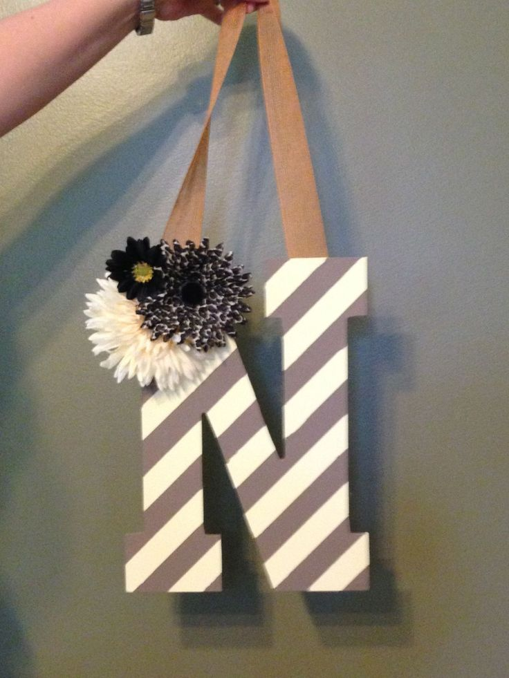 25 Best Ideas About Monogram Door Hangers On Pinterest
