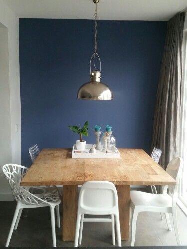 Mijn huis blueberry wallpaint flexa. Stoelen kartell Kinderstoel urban ikea