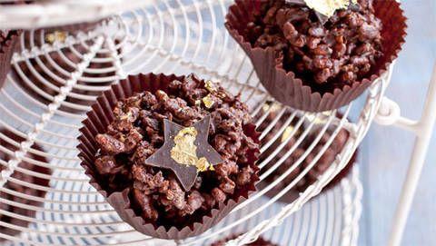 Golden Chocolate Crackles