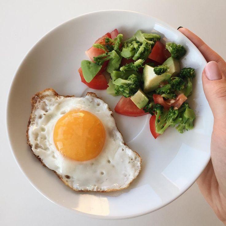 Диета завтрак яичница