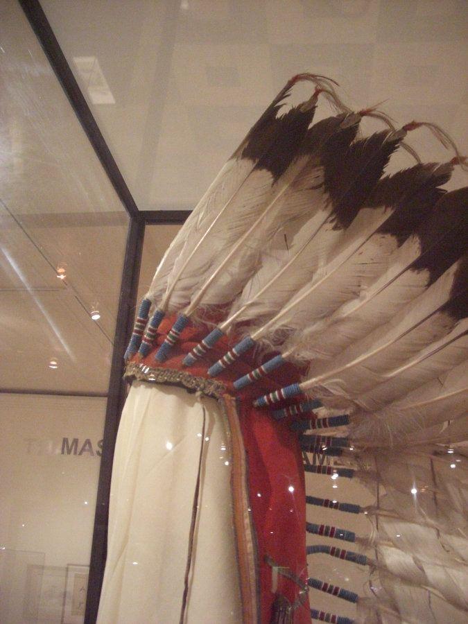 Quanah Parker Star House | Quanah's War Bonnet in the Panhandle Plains Museum, Canyon, Texas