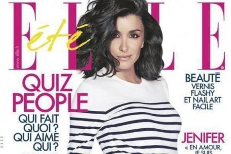 Jenifer, enceinte et rayonnante! La chanteuse montre son ventre rond en couverture du ELLE. - soirmag.be