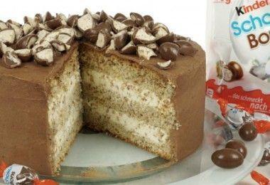 Schokoladenkuchen, Schokoladenbohnen für Kinder   – Backen