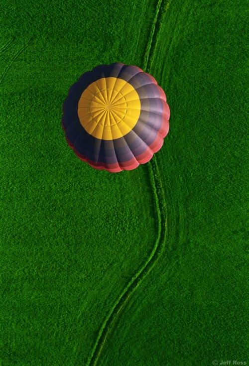 Riding in a hot air balloon is on my bucket list!