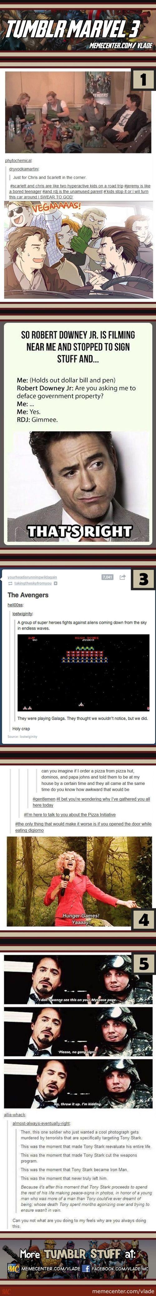 Tumblr Marvel #3  #5.... The feels.....