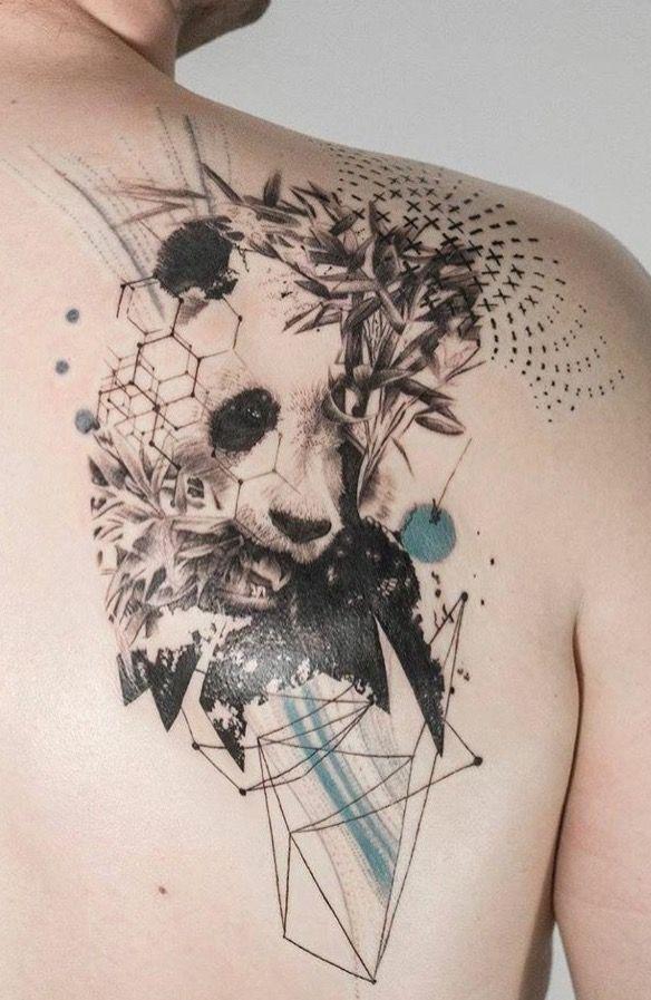 Mowgli artist panda tattoo