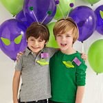 Alien Birthday Party - cute idea for alien ship art or party favor