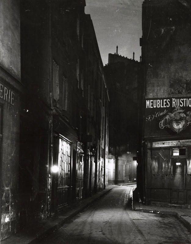 Meubles Rustique, Latin Quarter, Paris, 1925, Andre Kertesz.   Via: Stephen Bulger Gallery