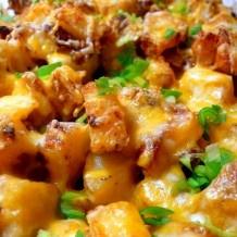 Pommes de terre rôties au Ranch Bacon et Fromage