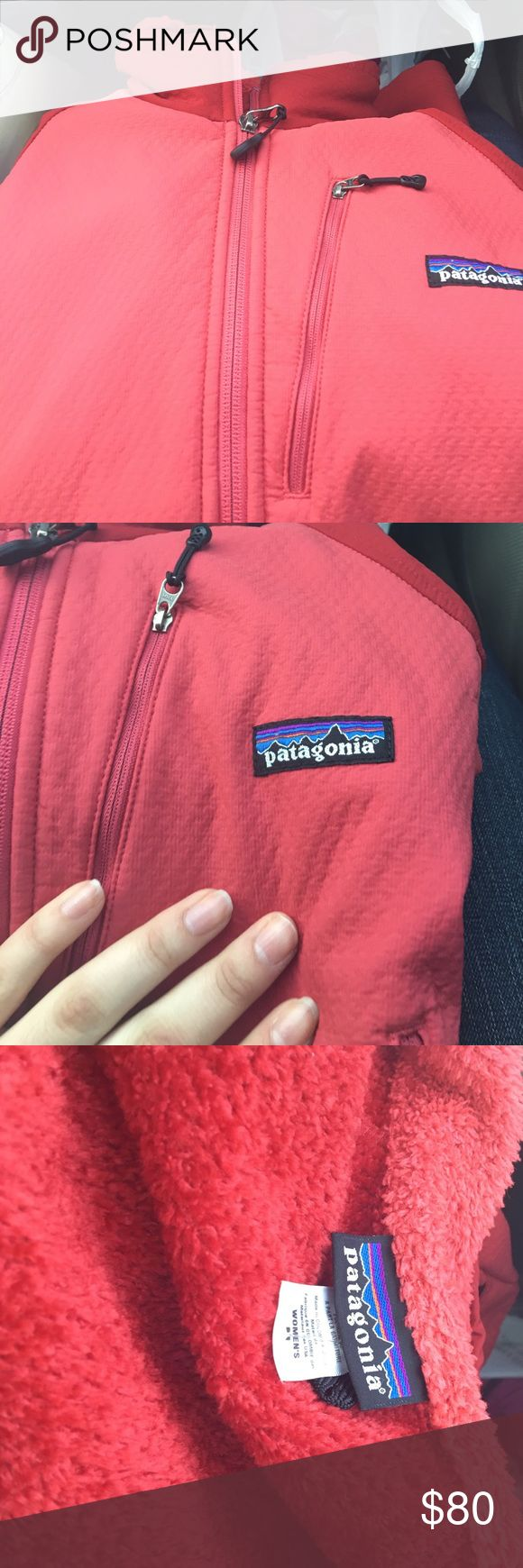 Patagonia red and pink  jacket Red jacket Valentine's Day SALE !!! PRICE Will GO UP AFTER VALENTINES Day!!!!!❤❤❤❤❤❤❤ Patagonia Jackets & Coats