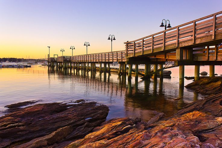 Daybreak at the Falmouth Town Landing | Flickr - Photo Sharing!