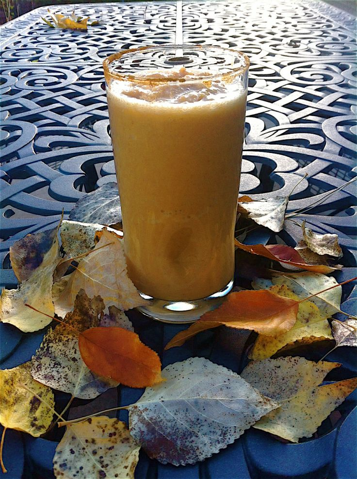 It's finally fall!! Celebrate the healthy way with this Pumpkin Protein Smoothie
