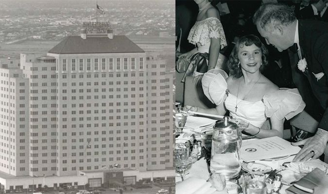March 17, 1949: On this St. Patrick's Day in 1949, the 18-story Shamrock Hotel, at the intersection of Main Street and Holcombe Boulevard, held a grand opening party...