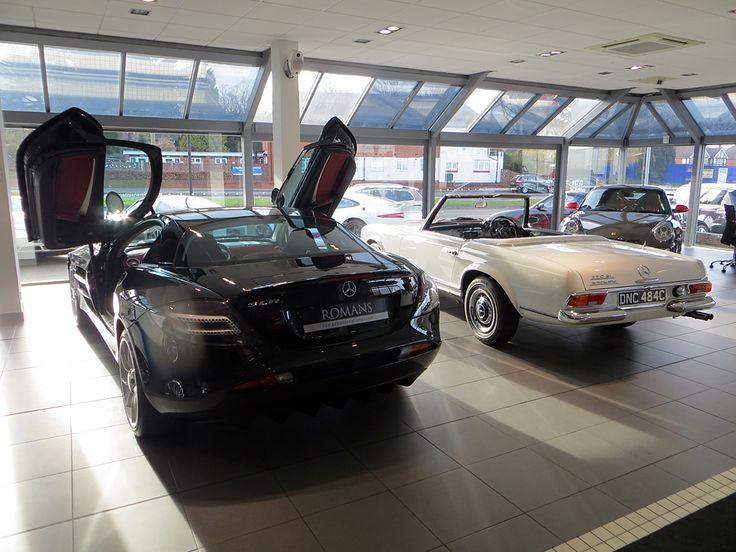 Family Cousins - Mercedes McLaren SLR & Mercedes 230 SL Pagoda.