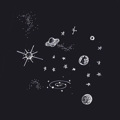 Drawings of the stars and the universe | cosmic inclinations