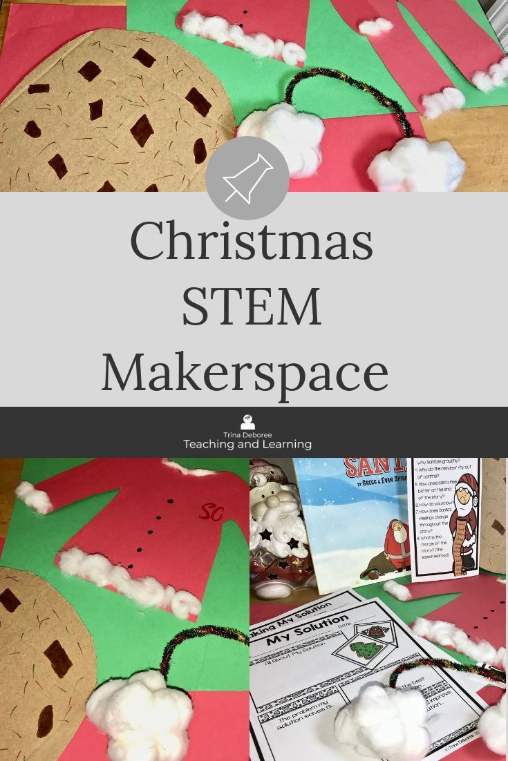 Christmas Makerspace Activities In Literature Are You Grumpy Simple Circuits For Kids Physics Stem Activity Will Love Solving Santas Problem From Santa Young Engineers Create A Model Of Solution