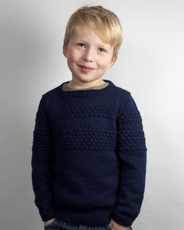 Sweater med sømandsbobler
