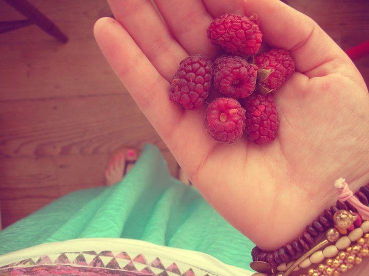 Raspberries from my garden | Home ♥ | Pinterest