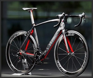 S-Works carbon fibre bike made by MClaren and specialised