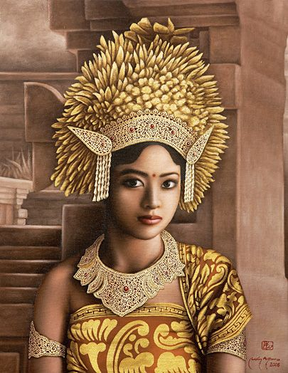 Beautiful Balinese Style House In Hawaii: The Exotic Beauty Of A Balinese Woman