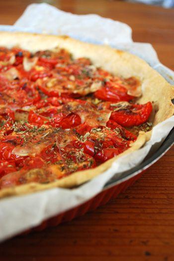 » Tarte à la tomate | Clea cuisine