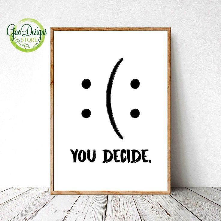 You Decide Print Motivational Quotes Extra Large Wall Art Prints Positive Quote Wall Decor Printable Home Decor Print Funny Quote Poster Funny Wall Art Wall Decor Quotes Wall Art Quotes